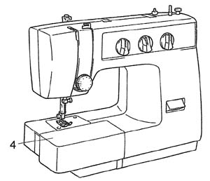 sewing machine vx1100