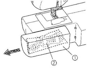 brother parts Mechanical Sewing Machine brotherextensiontablexc8918021 brother
